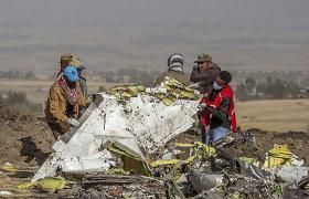 """Po """"Ethiopian Airlines"""" lėktuvo katastrofos rastos abi jo juodosios dėžės"""