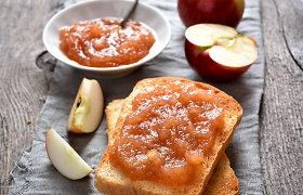 Konservuojame obuolius: raugiame, verdame obuolienę, deriname su daržovėmis