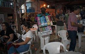 Brazilijoje per parą mirė daugiau kaip 1 000 koronavirusu užsikrėtusių žmonių