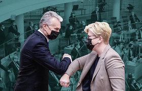 Naujieji metai – su drąsia Vyriausybe, nenuspėjamu prezidentu ir raumeninga opozicija Seime