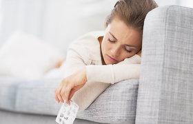 Kaip atskirti peršalimą nuo gripo ir kaip gydytis peršalus?