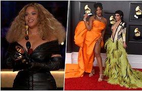 """""""Grammy"""" apdovanojimai stebino įvaizdžiais ir pažėrė istorinių pergalių – Beyonce pelnė 28-ą  trofėjų"""
