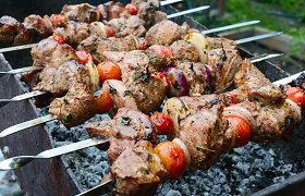 Kepame šašlykus: kokią mėsą rinktis, kaip ją ruošti ir kiek laiko kepti? Receptai