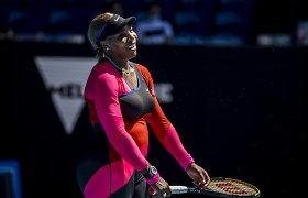 """S.Williams pirmą kartą krito """"Australian Open"""" pusfinalyje"""