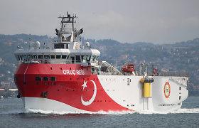Turkų tyrimų laivas paliko ginčijamus vandenis Viduržemio jūroje