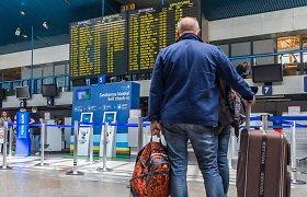 """Per anksti išskridęs """"Ryanair"""" lėktuvas Vilniuje nepalaukė """"vėluojančių"""" keleivių?"""