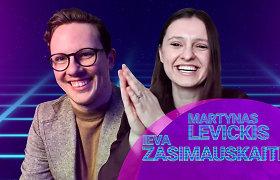 """""""Alter(Eurovizija)"""": apie lietuvių kalbą, """"užšalusį"""" M.Levickį ir I.Zasimauskaitės gimtadienį"""
