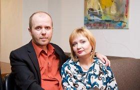Per medaus mėnesį išgirsta išsėtinės sklerozės diagnozė pakeitė menininkų Skrabulių gyvenimą
