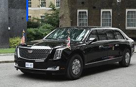 """""""Deals on Wheels"""": kodėl buvęs JAV vadovas D.Trumpas važinėjo automobiliu už 1,7 mln. eurų?"""