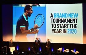 ATP taurė: naujas komandinis turnyras startuos 2020 metais