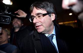 Buvęs Katalonijos lyderis C.Puigdemont'as įkūrė naują partiją