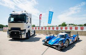 """""""Renault Trucks"""" pristato specialios serijos """"T High Edition – Team Alpine"""" sunkvežimį"""