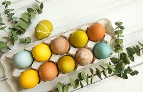 Dažome kiaušinius natūraliomis priemonėmis: subtilu, greita ir efektinga