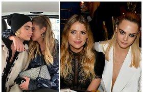 Po beveik 2 metų kartu išsiskyrė modelis Cara Delevingne ir aktorė Ashley Benson