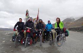 Kitokios atostogos – dviračiais per Himalajus: varginanti, jėgas išsunkusi kelionė, iš kurios norisi grįžti namo