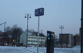 Klaipėdos valdžia: didinti rinkliavą už automobilių stovėjimą skatina ilgalaikiai tikslai