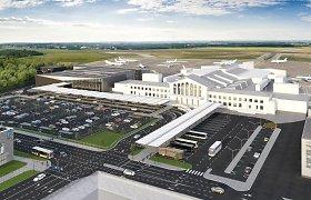 """Lietuvos oro uostai ir """"Mitnija"""" nutraukia sutartį dėl Vilniaus oro uosto terminalo statybos, bus ieškoma naujo rangovo"""