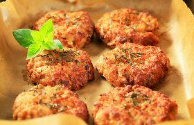 Maltinukai, kotletai ir paplotėliai be mėsos: tiks kruopos, ankštiniai ar daržovės