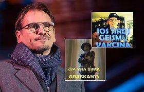 """M.Mikutavičius sukūrė dainą apie """"antivakserės"""" meilę """"vakseriui"""": """"Norėjau, kad ji sutaikytų"""""""