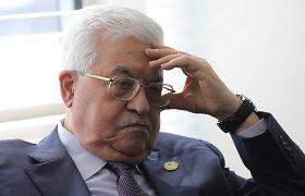 M.Abbasas: gegužę bus renkami palestiniečių parlamentarai, liepą – prezidentas