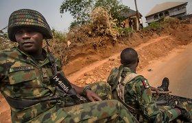 Nigerijoje po kovotojų atakos prieš kalėjimą pabėgo per 1 800 kalinių