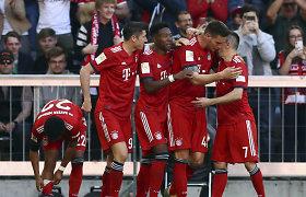 """""""Bayern"""" išvargo pergalę prieš Brėmeno """"Werder"""""""