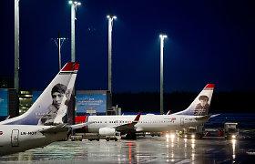 Tautiečiai negali sugrįžti namo – dėl prastų oro sąlygų strigo Oslo oro uoste