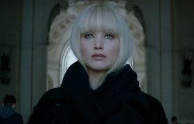 """Aktorei Jennifer Lawrence trileryje """"Raudonasis žvirblis"""" teko įvaldyti rusišką akcentą"""