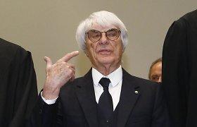 Pagrobta Bernie Ecclestone'o uošvienė, reikalaujama išpirka – 33 mln. eurų