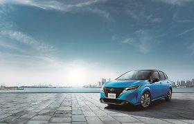 """""""Nissan"""" parodė naująjį """"Note"""" ir pasidžiaugė """"nesenstančiu japonišku futurizmu"""", bet yra viena bloga naujiena"""