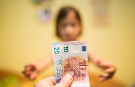 Koalicijos derybininkai siūlo didinti vaiko pinigus, o ne vaiko priežiūros išmokas