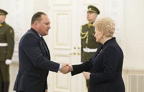 Prezidentė paskyrė G.Kryževičių Lietuvos vyriausiojo administracinio teismo pirmininku
