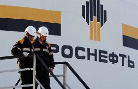 """""""Rosneft"""" pusmečio pelnas ūgtelėjo 4 kartus"""