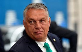 """Vengrijos partija """"Fidesz"""" išstojo iš Europos liaudies partijos"""