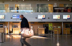 Keleivių Talino oro uoste pernai sumažėjo 74 proc.