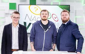 15min studijoje - Ugnius Antanavičius, Paulius Ambrazevičius ir Paulius Gritėnas
