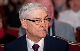 Į Seimą išrinktas prezidentu siekęs tapti Z.Balčytis prisiminė ir keistą darbo pasiūlymą