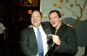 Quentinas Tarantino žinojo apie nederamą Harvey Weinsteino elgesį ir apgailestauja nieko nedaręs