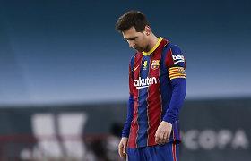 Varžovą ant žemės parbloškęs L.Messi – diskvalifikuotas