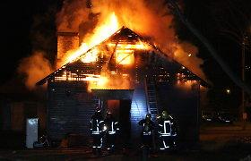 Per 72 pirmąsias Naujųjų metų valandas – 155 skubūs iškvietimai ugniagesiams gelbėtojams