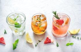 Savaitgalį leidžiantiems namuose – 3 spalvingų nealkoholinių kokteilių receptai