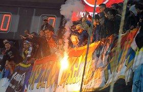 UEFA sprendimas dėl skandalingo mačo Juodkalnijoje – pergalė įskaityta Rusijai