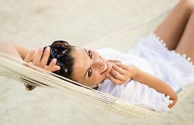 Žmonės dažnai pamiršta nuo saulės apsaugoti ausis, nosį, kaklą bei viršutinę krūtinės dalį. Specialistų patarimai