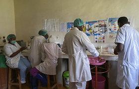 Kongo DR pradeda skiepijimą nuo Ebolos viruso