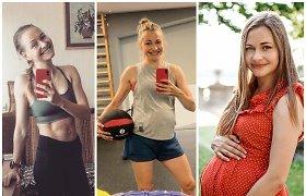 """Olimpietė Vaida Žūsinaitė: """"Po nėštumo mano kūno formos net pagerėjo"""""""