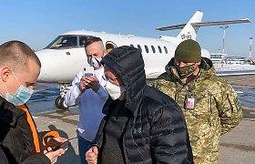 Buvęs Ukrainos didžiausio banko vienas aukščiausių vadovų sulaikytas sukčiavimo byloje