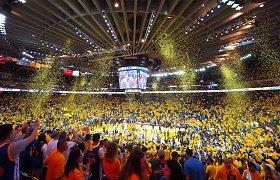 Už vietas penktose NBA superfinalo rungtynėse Ouklande – 90 tūkst. JAV dolerių