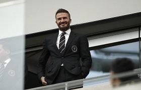 D.Beckhamas savo klubo treneriu paskyrė ilgametį komandos draugą Mančesteryje