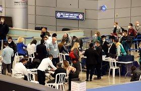 Pasiskiepiję izraeliečiai nuo savaitgalio galės laisvai skristi į Niujorką, Paryžių ir Frankfurtą