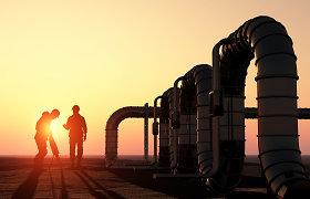Naftos kainos juda aukštyn, skatinamos gerų Kinijos statistinių duomenų